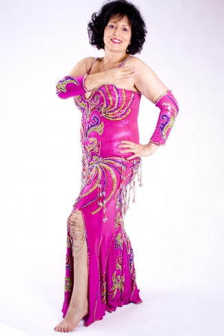 Belly dance cabaret dress - Dance Magic