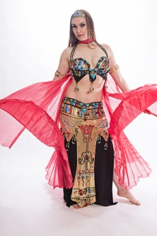 Belly dance cabaret costume - Egyptian Class
