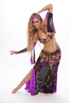 Belly dance cabaret costume - BabyBliss