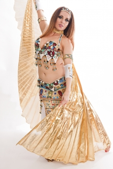 Belly dance cabaret costume - Pharaonic Angel