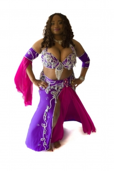 Belly dance cabaret costume - Bird of Paradise 2!