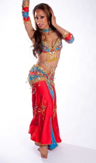 Belly dance cabaret costume - Perfect Pharonic