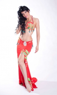 Belly dance cabaret costume - Miss Reality