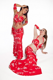 Belly dance cabaret costume - Sexy Karma