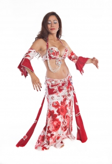 Belly dance cabaret costume - Rosieliscious