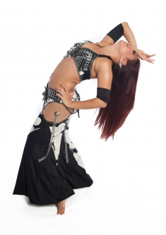 Belly dance cabaret costume - Bella