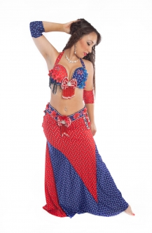 Belly dance cabaret costume - Miss United Kingdom