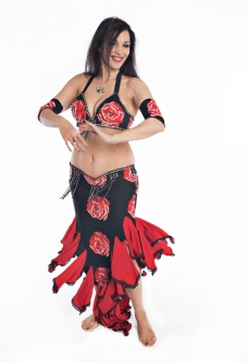 Belly dance cabaret costume - Sexy Gypsy