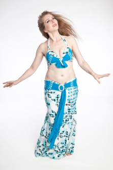 Belly dance cabaret costume - Luxurious Lady