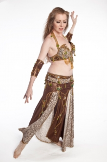 Belly dance cabaret costume - Pride and Glory