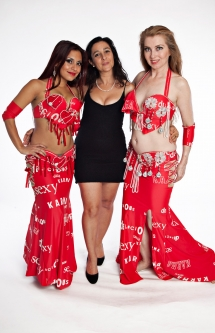 Belly dance cabaret costume - Delicious Karma