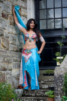 Belly dance cabaret costume - Pharonic Goddess