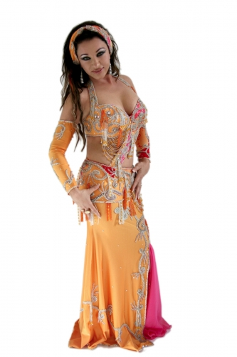 Belly dance costume - California Diva