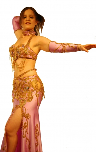 Belly dance costume - Lilac Class