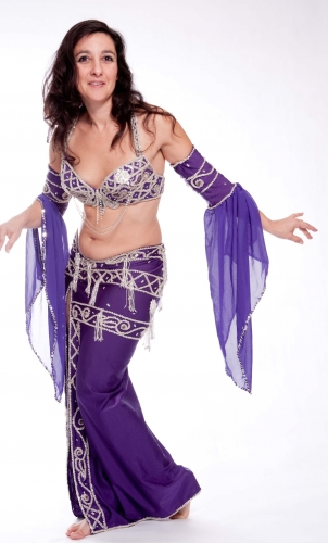 Belly dance costume - Glam Partier