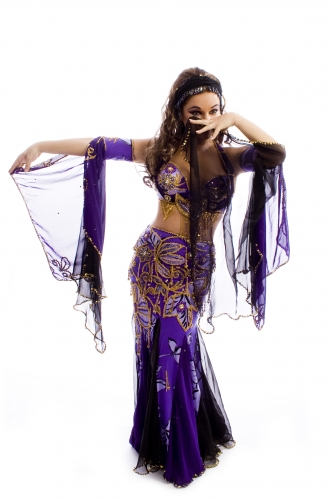 Belly dance cabaret costume - Treasured Beauty