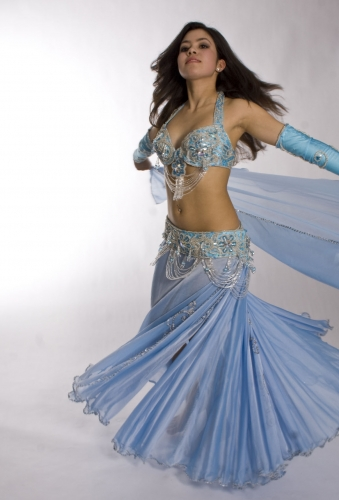 Belly dance costume - Samia Fairy