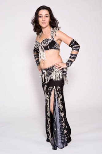 Belly dance cabaret costume - Michael Jackson's Bellydancer