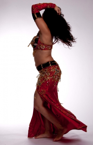 Belly dance costume - Mistress of Danger