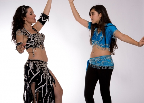 Belly dance costume - Ragged Fascination
