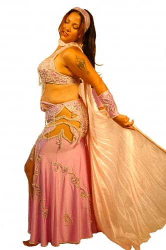 Belly dance costume - Fairytale