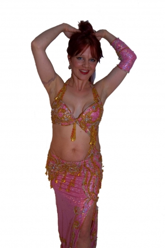 Belly dance costume - Tricksy Candy