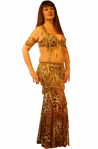 Belly dance costume - Leopardess