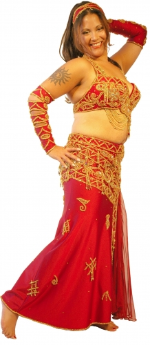 Belly dance costume - Hocus Pocus