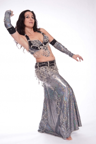 Belly dance costume - Metallica