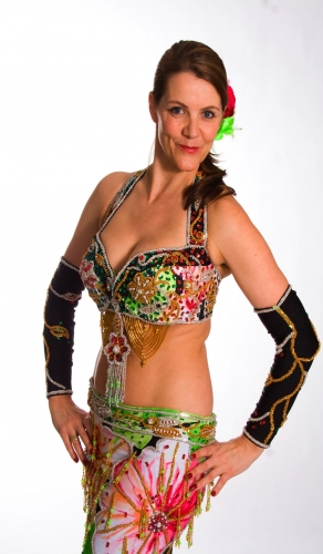 Belly dance cabaret costume - Brazilian Night