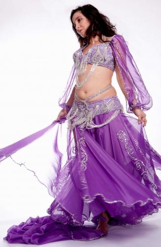 Belly dance costume - Samia Magic