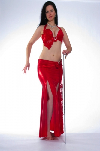 Belly dance costume - Casino Royale