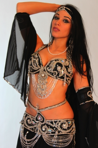 Belly dance costume - Samia Night