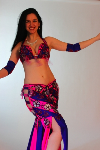 Belly dance costume - Illegal Sugar