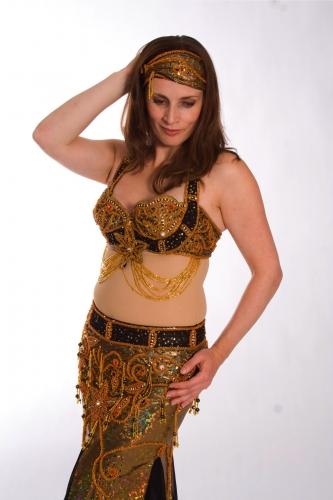 Belly dance costume - Secret Fortune