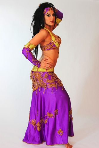 Belly dance costume - Imaginary Fantastic