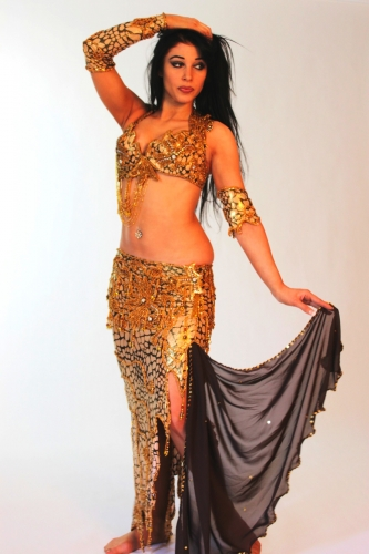 Belly dance costume - Desert Dragon