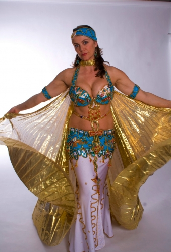 Belly dance costume - Pharoah's Toy Shop