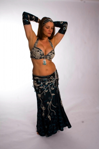 Belly dance costume - Evening Dream