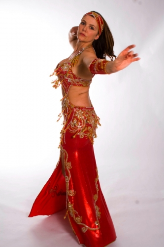 Belly dance costume - Dragon Lady