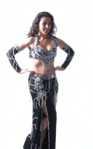 Belly dance costume - Shimmer Glamour
