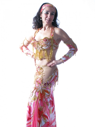 Belly dance cabaret costume - Lily Lover