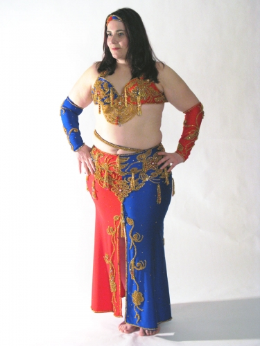 Belly dance costume - The Jester