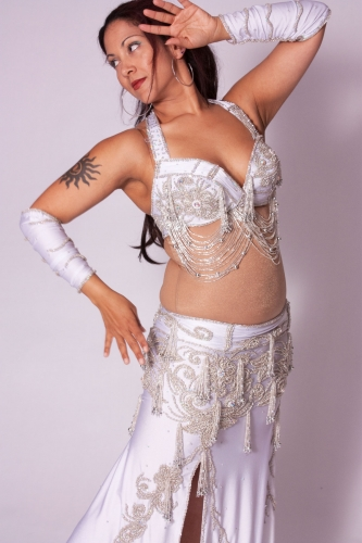 Belly dance costume - Chilled Beauty