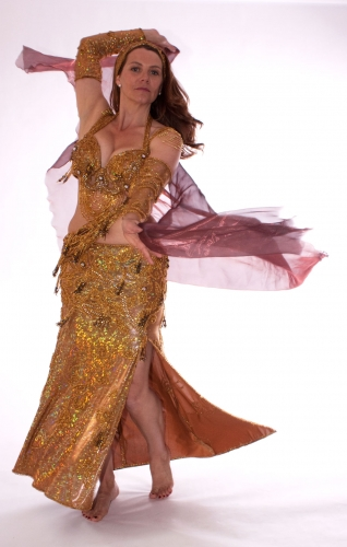 Belly dance costume - Desert Treasure