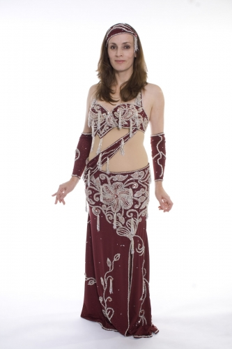 Belly dance costume - Blood Diamond
