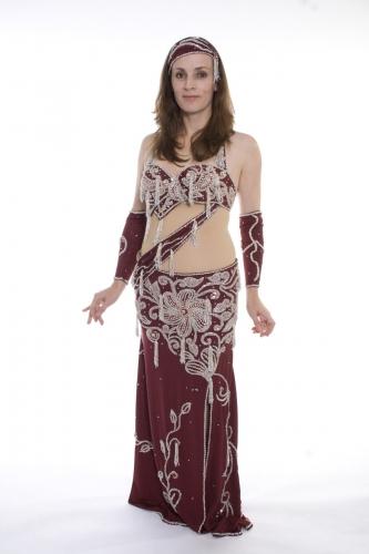 Belly dance costume - Blood Diamond
