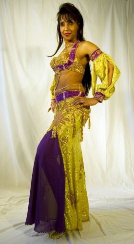 Belly dance costume - Crazy Baby