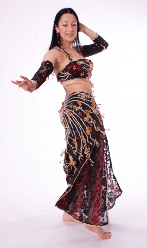 Belly dance costume - Romantic Lace