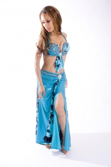 Belly dance couture costume - Timeless Beauty